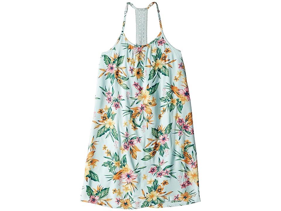 Roxy Kids The Little Mermaid Exotic Nature Dress (Big Kids) (Wan Blue Heritage Floral) Girl