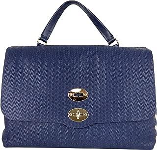 Luxury Fashion   Zanellato Womens 61346035 Blue Shoulder Bag   Fall Winter 19
