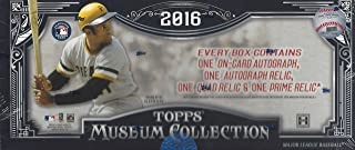 topps museum collection baseball 2016