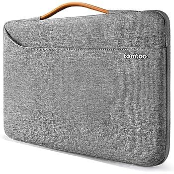 Inateck Housse d/'Ordinateur Portable 13-13,3 en Feutre Gris Compatible avec MacBook Air 2012-2018 //MacBook Pro 2012-2018 //Surface Pro 6 //Surface Pro 2017//4//3 et d/'Autres PC Portables de 13