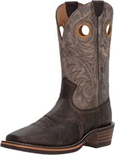 حذاء رجالي غربي هيرتاج روستوك من ARIAT