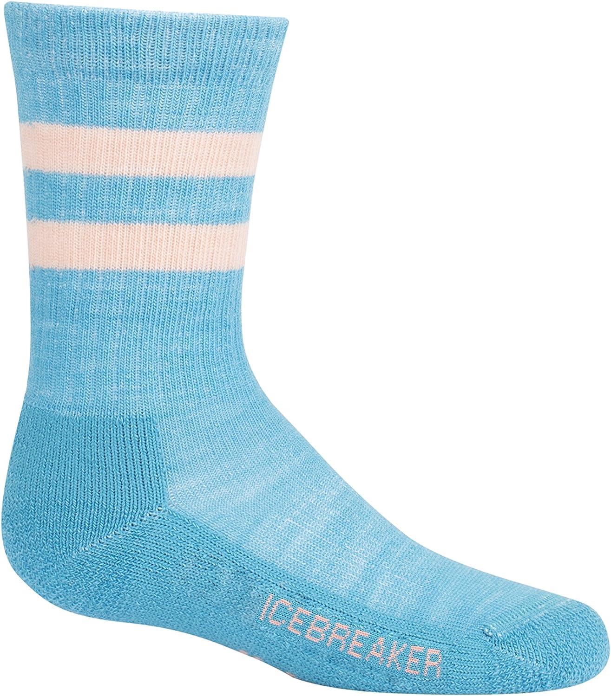 Icebreaker Merino Kid's Hiking Crew Socks, Merino Wool