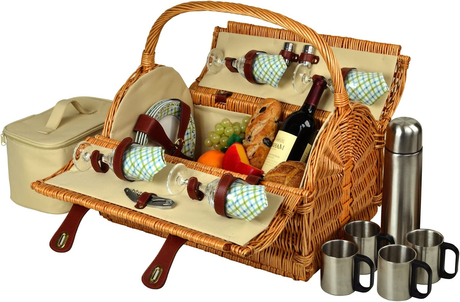 Picnic trust at Recommendation Ascot Yorkshire Willow Service for with Basket