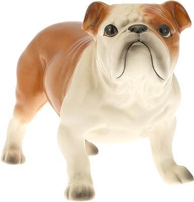 Kotobuki Ceramic Dog Figurine, Bulldog