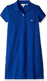 Lacoste Girl Solid Polo Dress