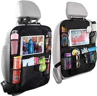 Home-Mart Car Organisers,2 Pack Car Back Seat Organiser for Kids,Car Seatback Protector with 10inch Tablet Holder,Backseat...