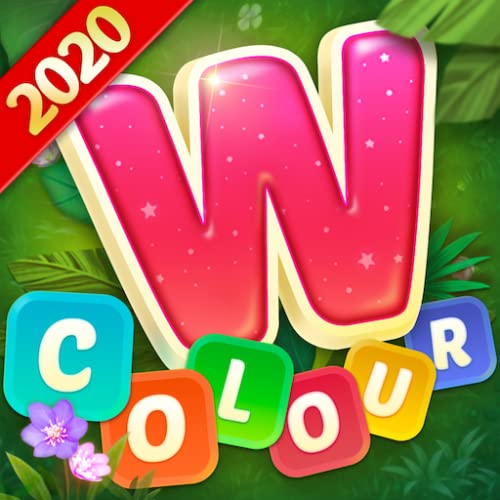 Word Colour - Brain training cross connect search word puzzle game