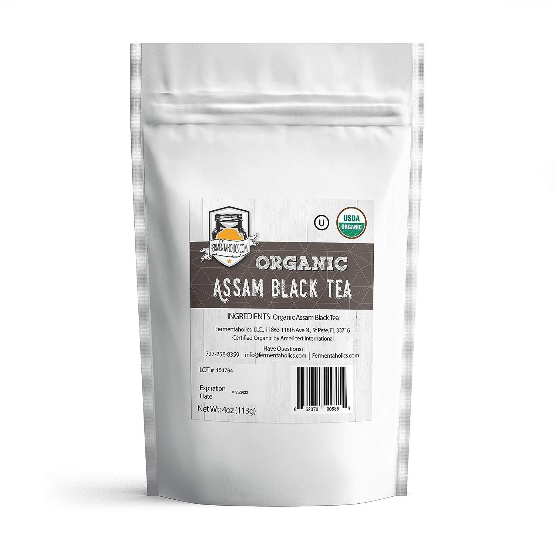 Fermentaholics USDA Certified outlet Lowest price challenge Organic Assam Black Tea Loose-Leaf