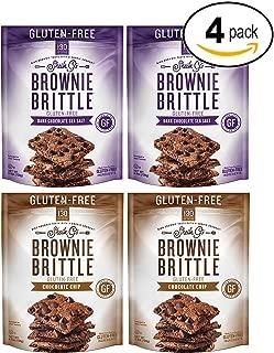 Brownie Brittle Gluten-Free Brownie Brittle Variety Pack, 5 Ounce, 4 Count