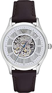Emporio Armani Men's Sport Navy Leather Band