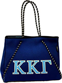 Kappa Kappa Gamma Sorority Fraternity Neoprene Tote Bags Purses Totes Fall School Overnight Gym Studio Office Travel Beach...