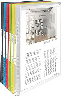 Esselte 624013 30件封面角度公文包个性化40套透明 Vivida 分类