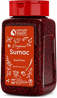 USimplySeason Sumac Spice (Original Powder, 5 Ounce)