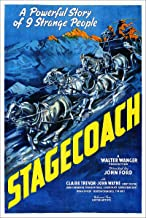 American Gift Services - Stagecoach Vintage John Wayne Movie Poster - 18x24