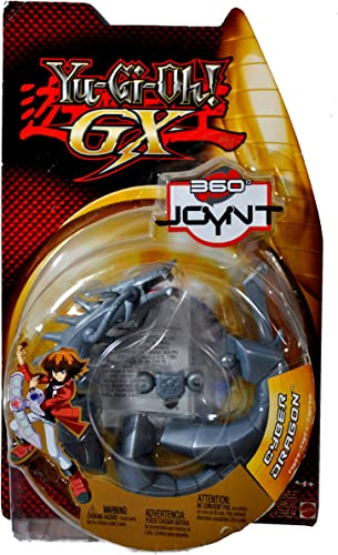 Mattel Year 2005 -Gi-Oh. GX 360 YNT Series 6 ch Tall Action Figur Cyber Dragon with Pop A Seite arm and Legs Feature By Yu-Gi-Oh.