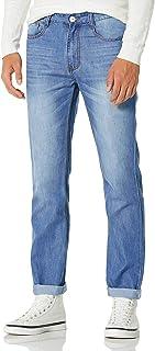 Demon&Hunter 806 Series Hombre Pantalones Vaqueros Straight Corte Recto