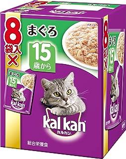 カルカン パウチ 高齢猫用 15歳から まぐろ 70g×8袋入り [キャットフード]