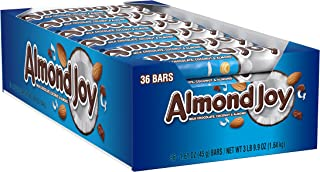 Almond Joy Chocolate Coconut Candy Bar (Pack of 36), Multicolored, 1.61 Ounce (Pack of 36)