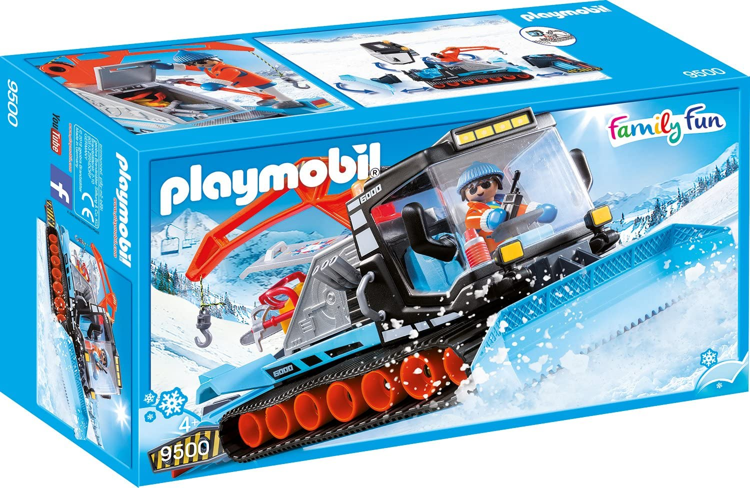 Excellent Max 67% OFF PLAYMOBIL Snow Plow