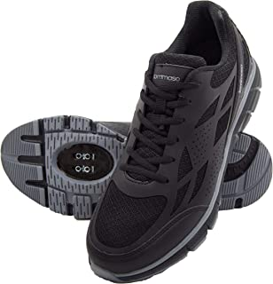 Milano Men's Commuter/Spin Bike Cycling Shoe