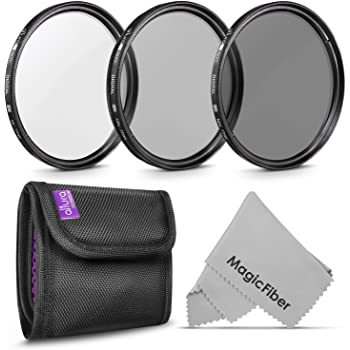 77 mm UV Filter Protective Glass 77mm HD MC UV Filter for 77mm UV Filter Canon EF 70-200mm f//2.8L is II USM 77mm Ultraviolet Filter