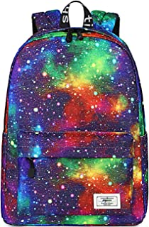 Mygreen Galaxy Backpack for Girls, Kids, Teens by Mygreen, 15 inch Durable Book Bags for Elementary, Middle School Students