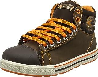 a85f3995 COFRA - Calzado de protección de cuero para hombre marrón marrón
