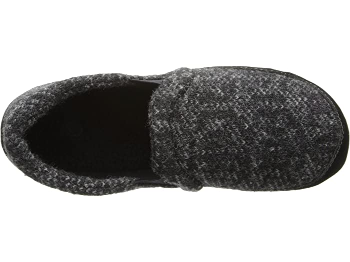 Acorn Fave Gore Charcoal Tweed Slippers
