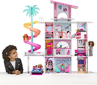LOL Surprise OMG House of Surprises – New Real Wood Doll House w 85+ Surprises   4 Stories, 10 Rooms Including Elevator, B...