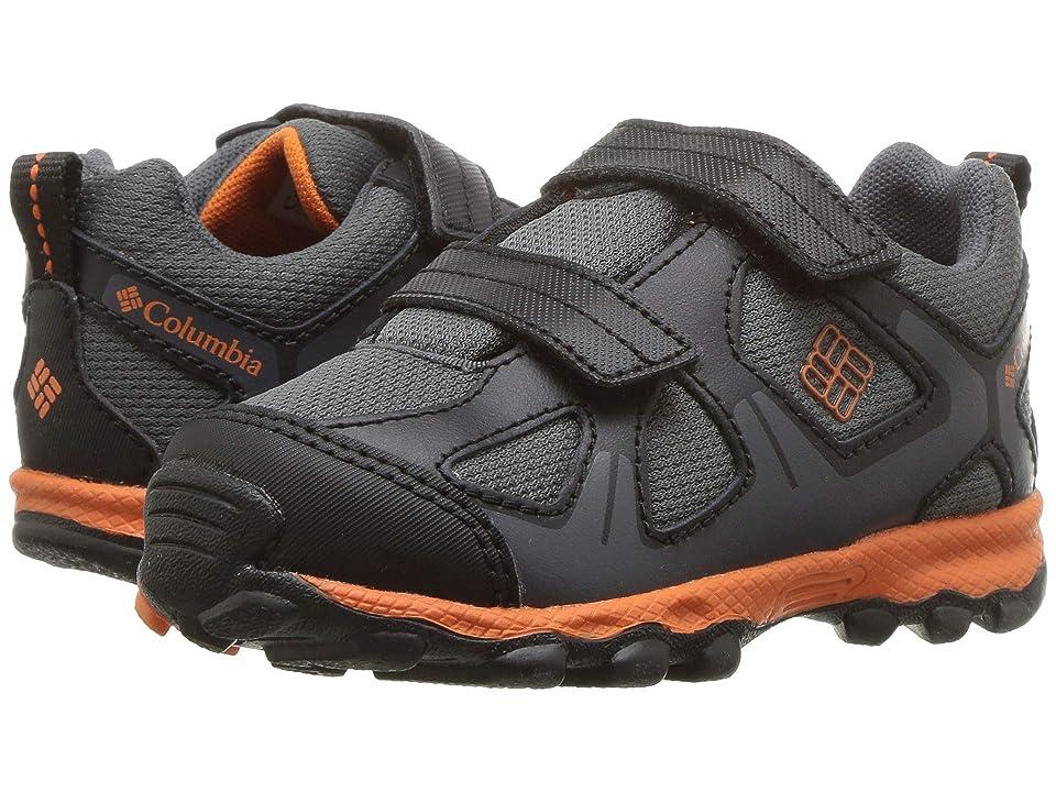 Columbia Kids PeakFreaktm Xcrsn Waterproof (Toddler) (Graphite/Heatwave) Boys Shoes