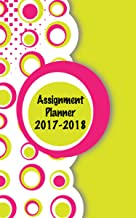Casa de Doolittle 2017–2018semanal planificador académico asignación libro, Zig Zag, 5x 8cm, de agosto de–agosto (hod274rtg72–18), color Circles