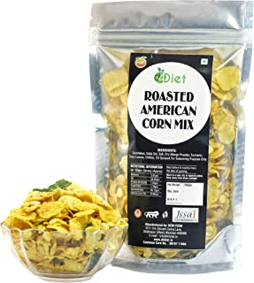 D4Diet Roasted American Corn Mix-Namkeen/ Roasted Snacks/ Healthy Snacks Pouch, 200 g