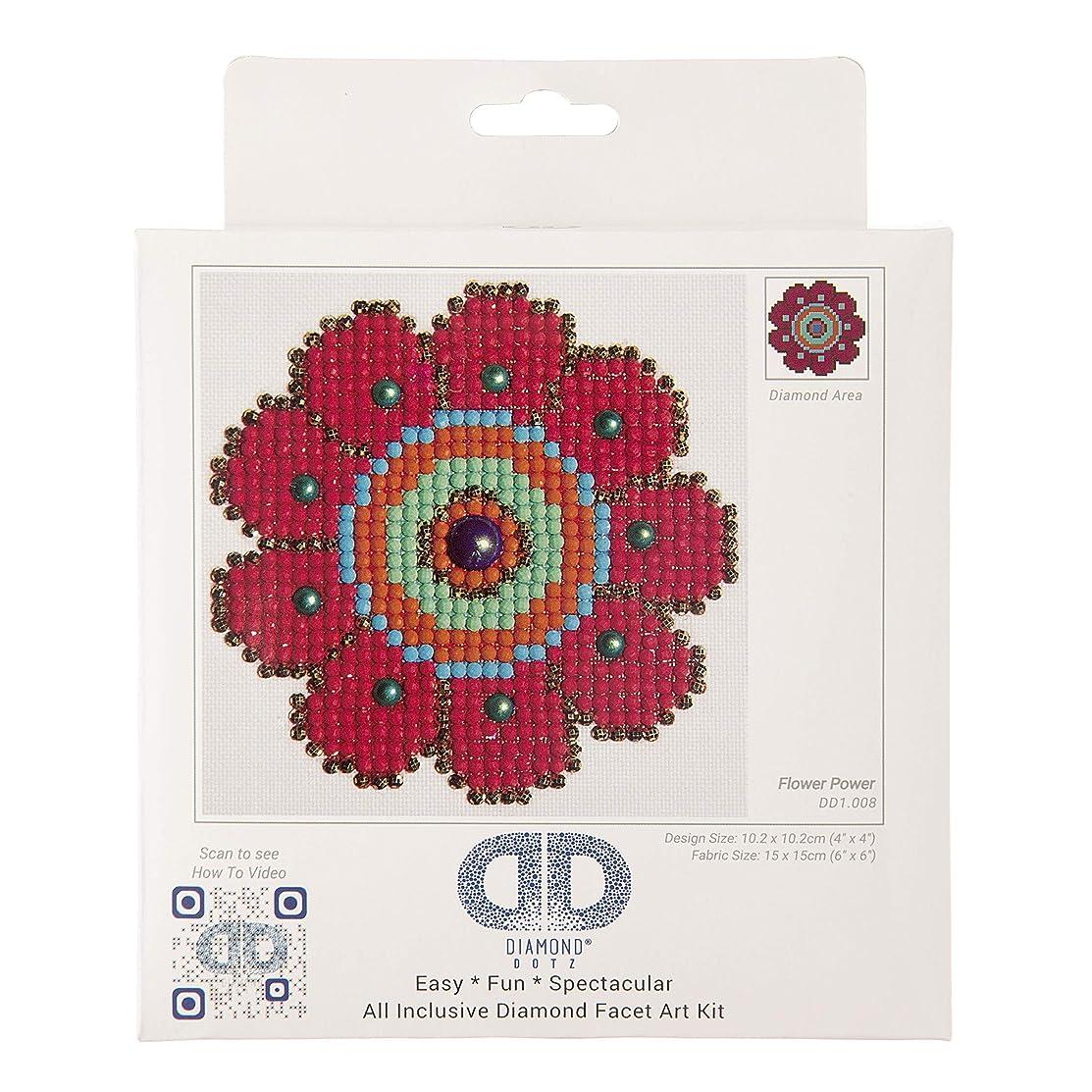 Needleart World Flower Power Diamond Embroidery Kit
