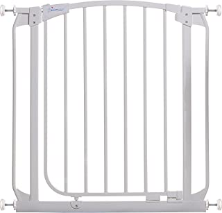 dreambaby extra tall swing closed stair gate white