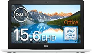 Dell ノートパソコン Core i3 Office ホワイト Win10/15.6FHD/4GB/1TB HDD Ins 15 3581 20Q11HBW