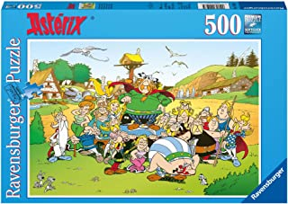 Ravensburger - 14197 - Puzzle Classique - 500 Pièces - Astérix au Village