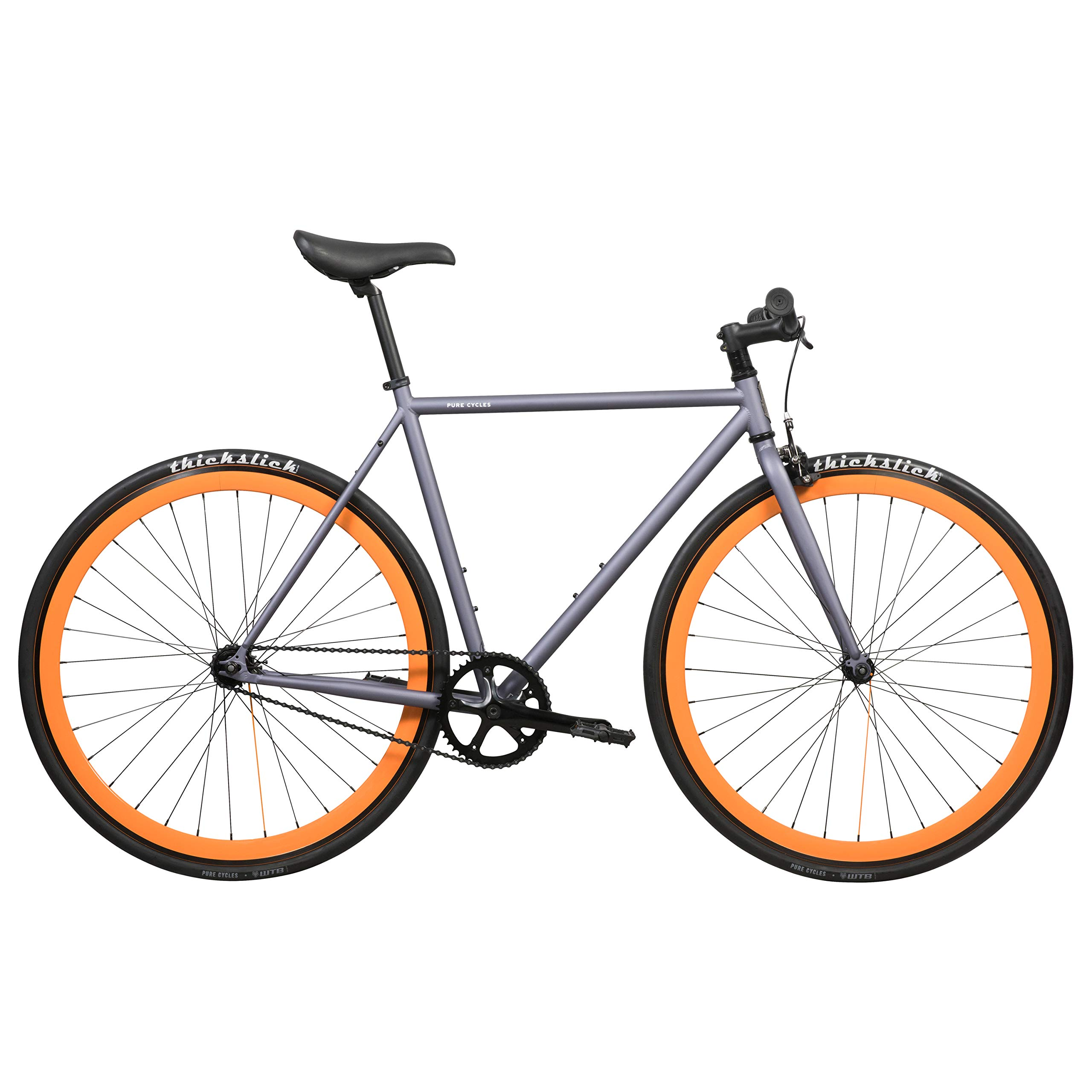 Pure Fix Cycles Fixed Gear Single Speed - Bicicleta, Color Multicolor: Amazon.es: Deportes y aire libre