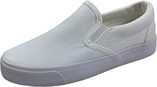 Kid's Classic Slip On Canvas Sneaker Tennis Shoes