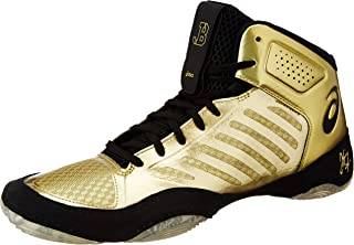ASICS JB Elite III Mens Wrestling Shoes - Gold