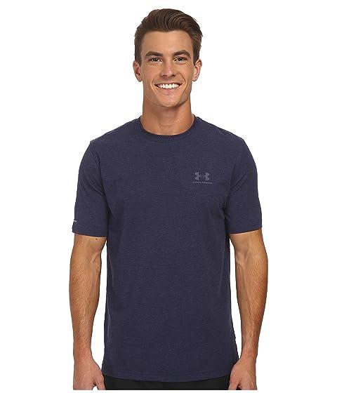 Medianoche marino de Armour Acero Azul Charged Under Cotton® izquierda Armadura PFHn1YUx