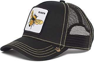 Men's Queen Bee Animal Farm Trucker Cap, Black, One Size