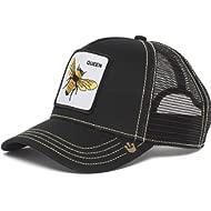 Goorin Bros. Men's Queen Bee Animal Farm Trucker Cap, Black, One Size