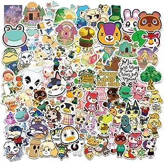 Animal Cross_ing Stickers 100PCS Trendy Game Waterproof Kawaii Decorations for Laptop Desk Screen Skateboard Luggage Hand ...