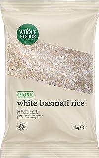 Whole Foods Market - Arroz basmati ecológico, 1 kg