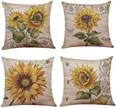 Amazon Com Sunflower Pillows