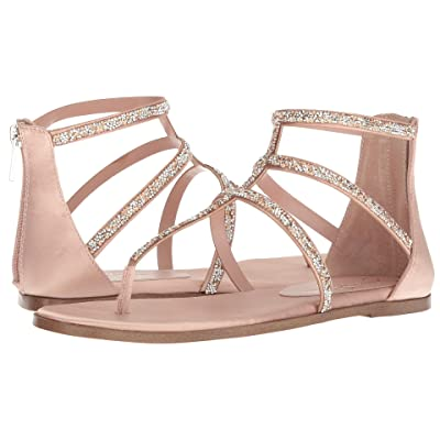 Jessica Simpson Cammie (Nude Blush Crystal Satin) Women