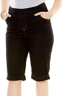 Woman Within Women's Plus Size Smooth Waist Bermuda Jean Short