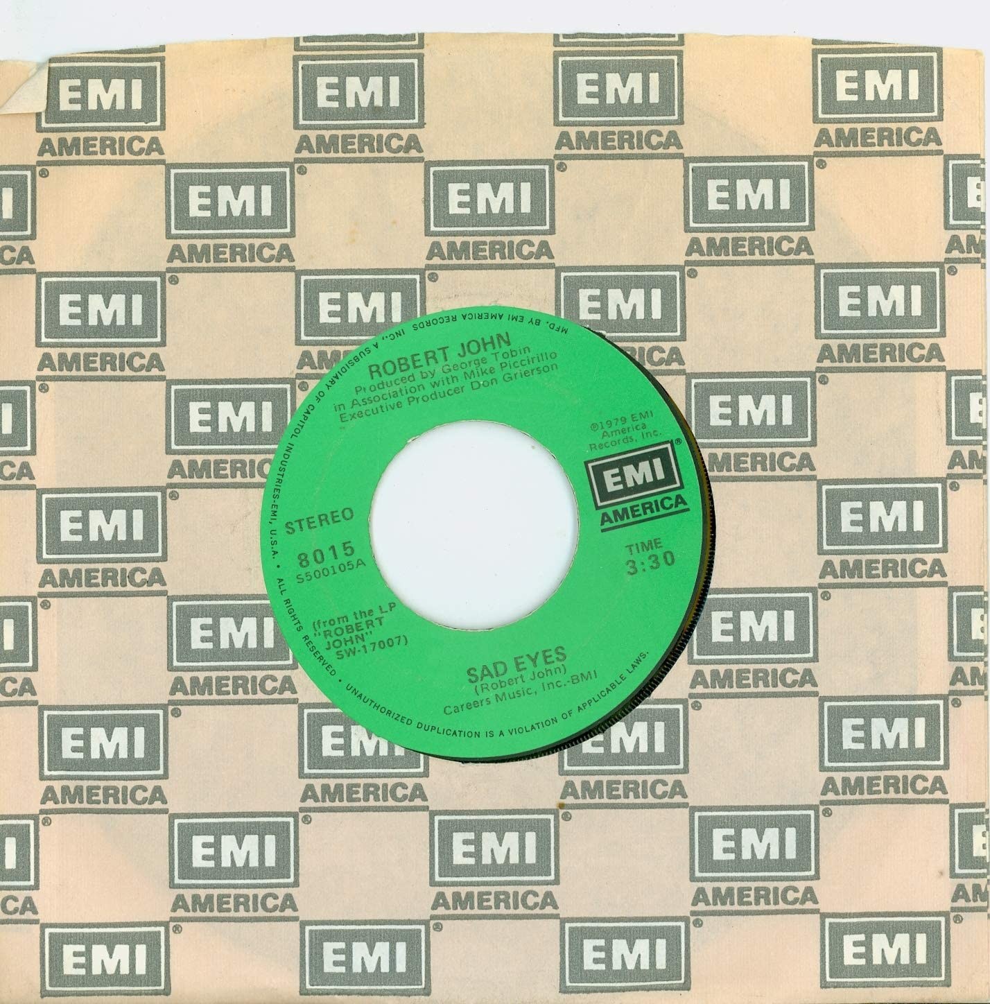 Sad Eyes Am I Ever Gonna Hold John You Ame Max 46% OFF EMI Again Robert Raleigh Mall -