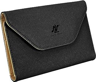 LN Love Nest Minimalist Wallets for Women Rfid Blocking Credit Card Passport Holder Leather Purse
