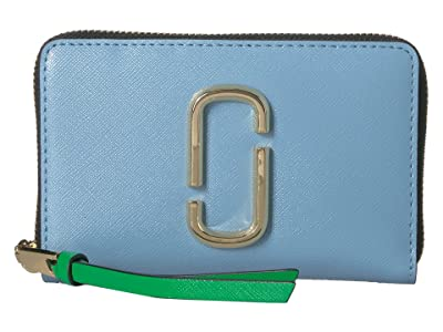 Marc Jacobs Snapshot Small Standard (Misty Blue Multi) Handbags